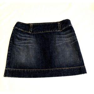 Tommy Hilfiger Distressed Hem Skirt